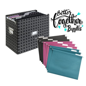 File The Pile + Hanging File Folders - Bundle