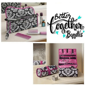 Hot to Cool Pouch + On a Roll - Damask Pink - Fall Getaway Bundle