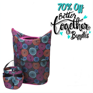 Slam Dunk Hamper - Bright Lights + Totally Clever Tote - Bright Lights Special Bundle - 70% OFF