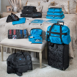 Anything Goes Bag + Bag in a Bag - Teal - Bundle