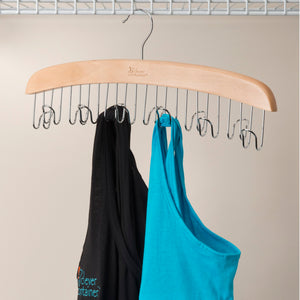 Closet Wooden Hangers Set - 1 of each - Bundle