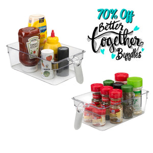 Get a Grip Bin - Set of 2 - Better Together Bundle - 70% OFF