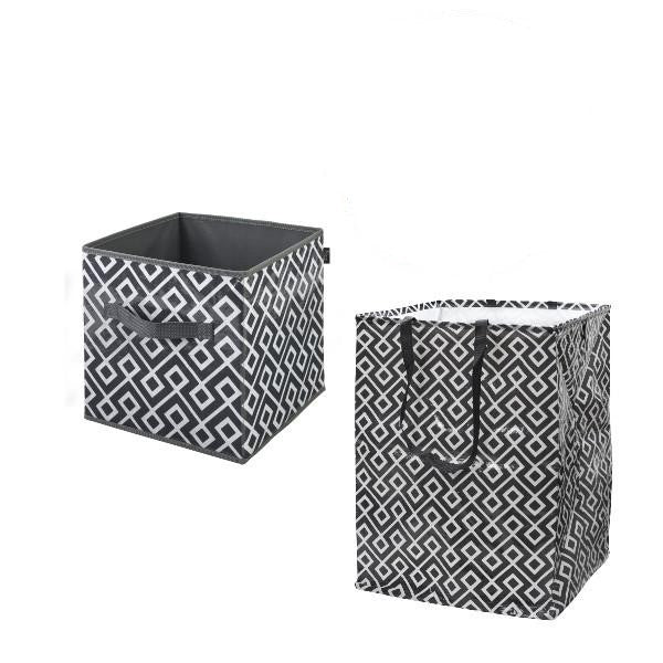 Cube It + Large Pop-Up Bin - Amazing Gray - Save a Bundle Special