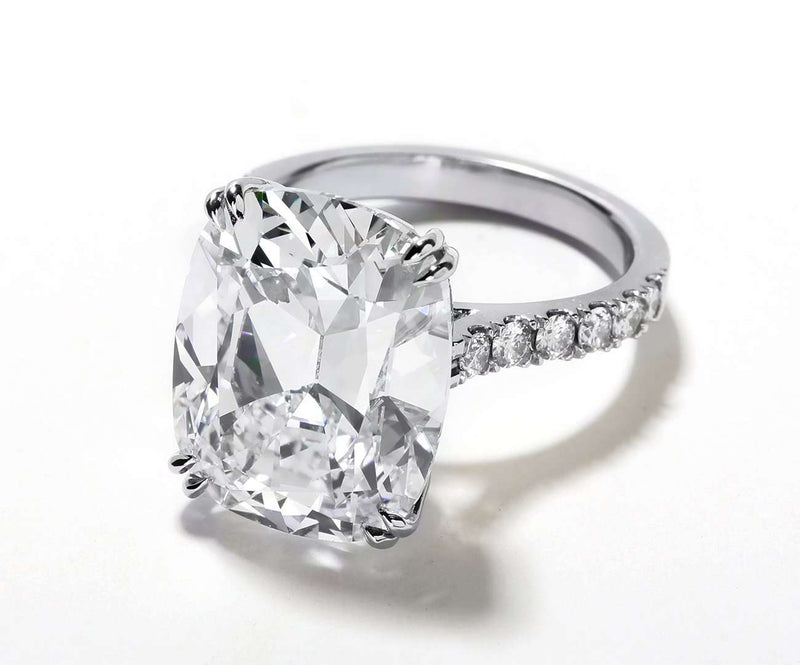 Cushion Shape Engagement Rings