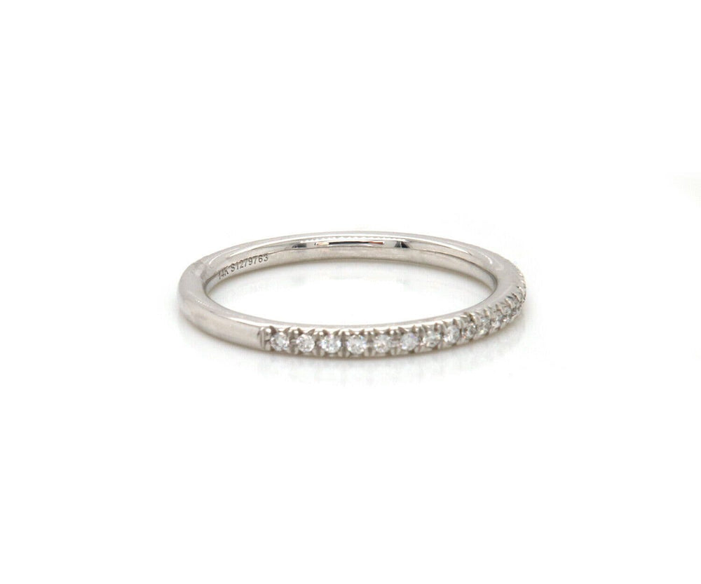 New Gabriel & Co. 0.18ctw Diamond Wedding Band Ring in 14K