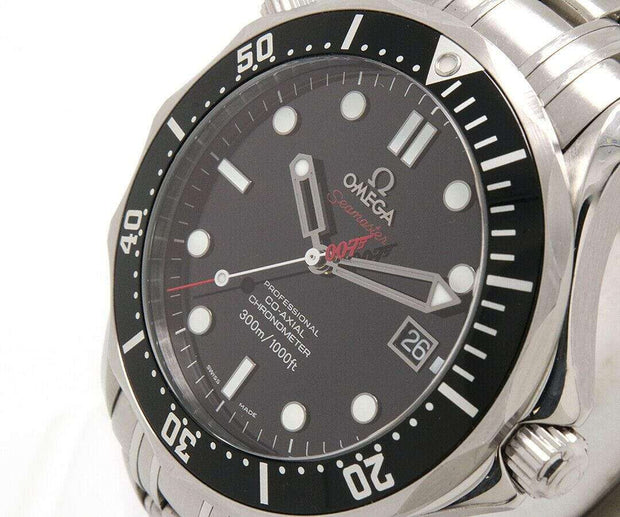 2008 Omega Seamaster James bond 007 Limited Edition Watch, Box and Papers