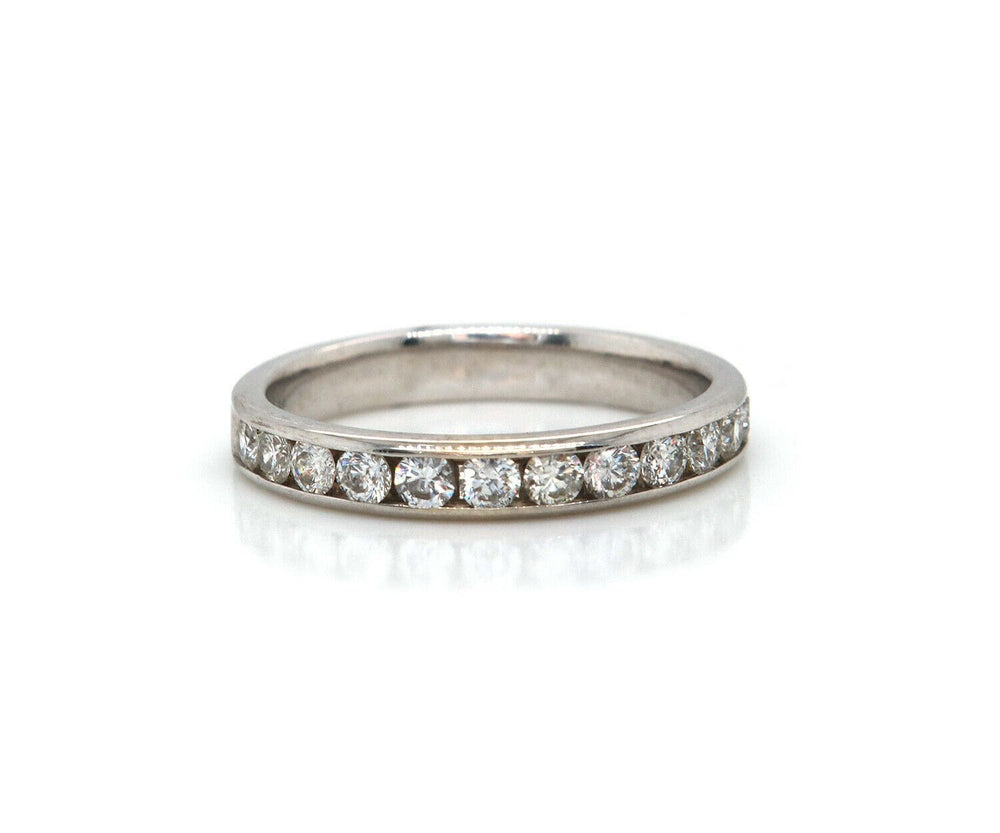 0.50ctw Diamond Channel Set Wedding Band Ring in 14K