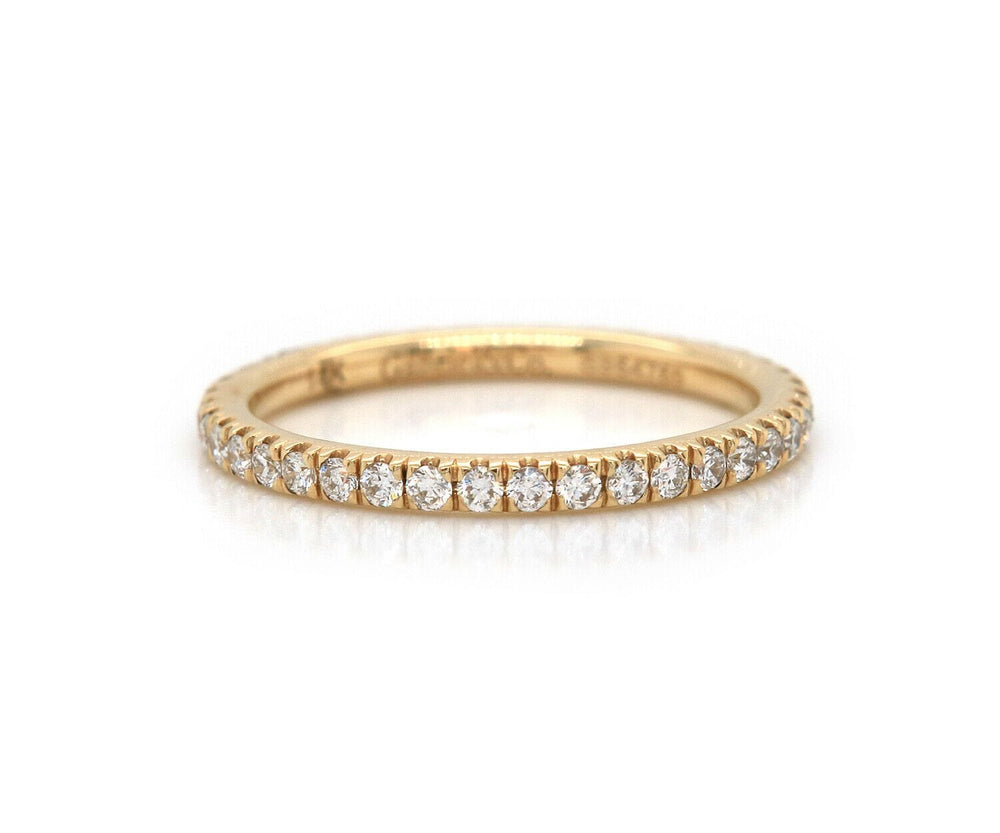 New Gabriel & Co. 0.48ctw Diamond Eternity Band Ring in 14K