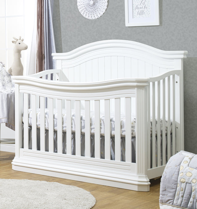 Brixy Avanti 4 in 1 Crib White