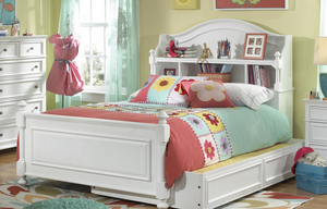 LC Kids Madison  BOOKCASE BED TWIN