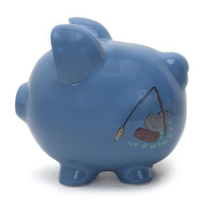 Child To Cherish Camping Piggy Bank