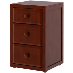 Maxtrix 3-Drawer Nightstand