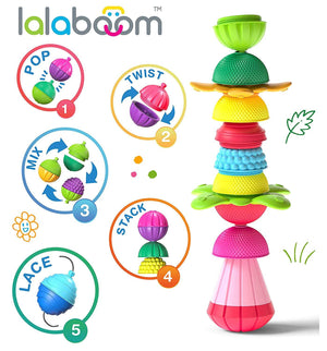 Fat Brain Toys Lalaboom (48-piece set)