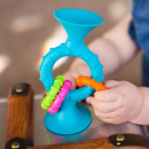 Fat Brain Toys Pip Squigz Loops Teal