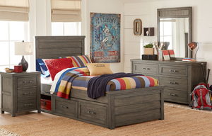 LC Kids Bunkhouse PANEL BED, TWIN 3/3
