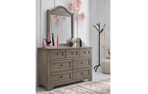 LC kids Farm House Arched Dresser Mirror