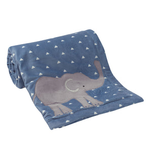 Lambs & Ivy Animal Crackers Blanket