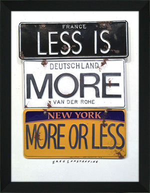 "Lu Art ""Less Is More"""