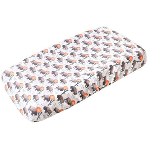 Copper Pearl Premium Diaper Changing Pad Cover - Bison