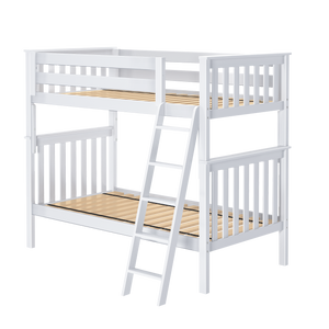 Jackpot Deluxe Bristol 1- Twin/Twin Bunk Bed w/Angle Ladder