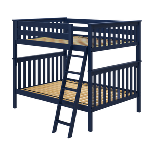 Jackpot Deluxe Cambridge 1 - Full/Full Bunk Bed w/Straight Ladder