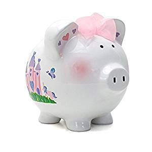 Child To Cherish Princess Castle Piggy Bank
