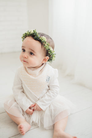 Copper Pearl Baby Bandana Bibs - June