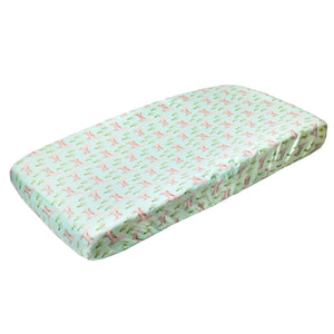Copper Pearl Premium Diaper Changing Pad Cover - Cusco