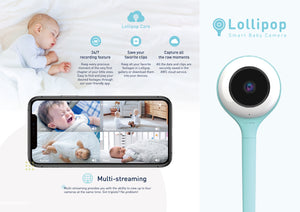 Lollipop Smart Baby Camera (Baby Monitor)