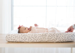 Copper Pearl Premium Diaper Changing Pad Cover - Willow