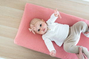 Copper Pearl Premium Diaper Changing Pad Cover - Darling