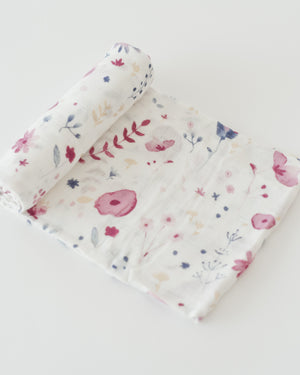 Little Unicorn Deluxe Swaddle - Fairy Garden