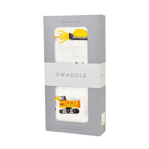 Newcastle Classics Swaddle Dumptrucks and Diggers