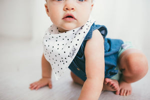 Baby Bandana Bibs - Willow - Copper Pearl - 4