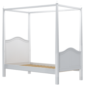 Maxtrix Twin Poster Bed