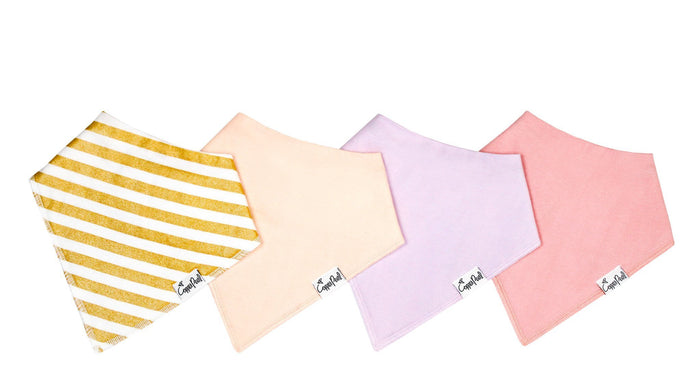 Copper Pearl Baby Bandana Bibs - Sweetheart Collection (each sold separately)