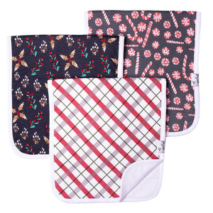 Copper Pearl Premium Burp  Cloths - Jolly