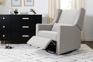 Babyletto Kiwi Electronic Recliner & Swivel Glider with USB Port Eco-Performance Fabric