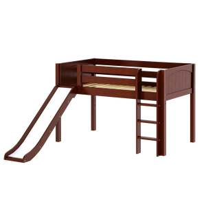 Maxtrix Twin Low Loft Bed with Slide