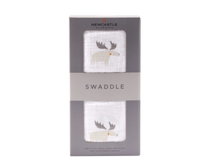 Newcastle Classics Swaddle Mr Moose