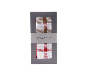 Newcastle Classics Swaddle Plaid