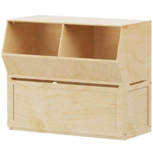 Maxtrix Stacked Toy Chest + Cubby