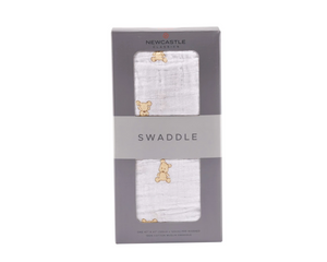 Newcastle Classics Swaddle Teddy Bear