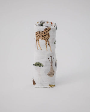 Little Unicorn Cotton Muslin Swaddle Single - Safari Social