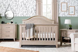 Franklin & Ben 4-in-1 Convertible Curve Top Crib Sandbar