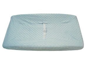 Brixy Heavenly Soft Chenille Minky Dot Changing Pad Cover