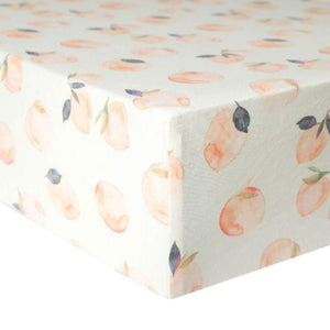 Copper Pearl Premium Crib Sheet - Caroline