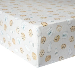 Copper Pearl Premium Crib Sheet - Chip