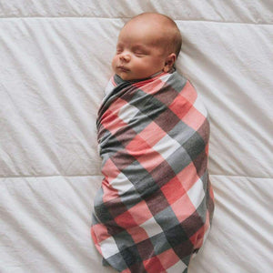 Copper Pearl Knit Swaddle Blanket - Jack