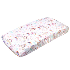 Copper Pearl Premium Diaper Changing Pad Cover - Enchanted